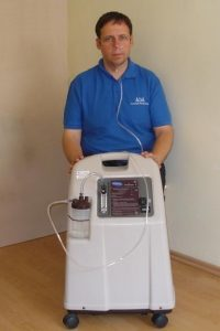 deguonies terapija - koncentratorius Platinum